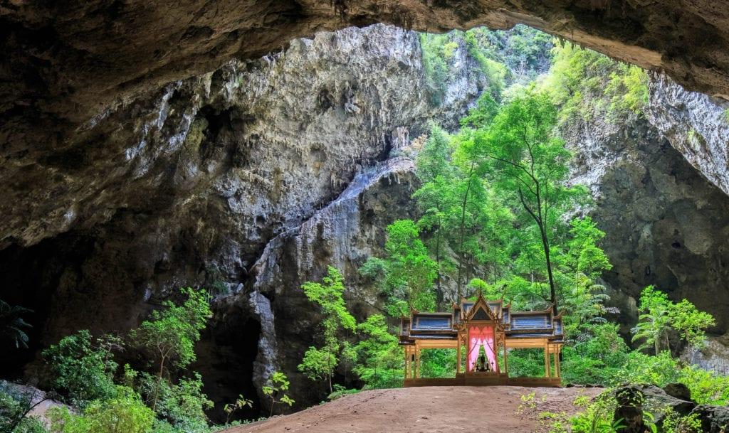 Pavilion in Phraya Nakhon Cave, Kao Sam Roi Yot National Park